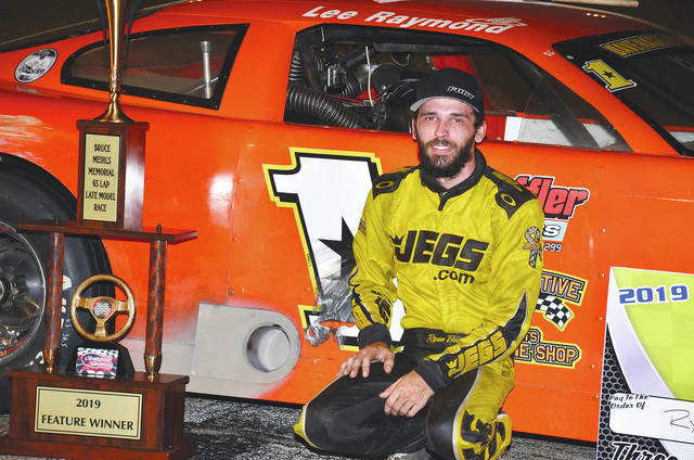 Ryan Fleming of Xenia picked up nearly $5,000 by winning the Bruce Meihls Memorial at Shady Bowl on Saturday.