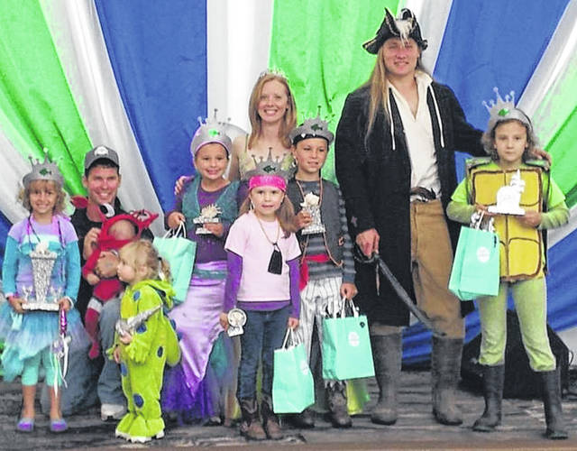 Dressing in costumes like this will earn you free admission to this year's Ohio Fish and Shrimp Festival, Sept. 20-22 at Freshwater Farms of Ohio, just north of Urbana.