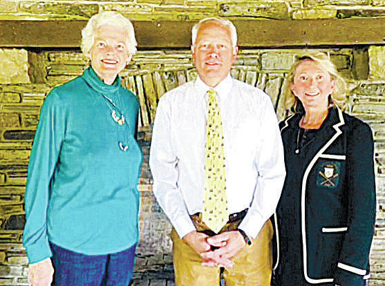 Goshen Memorial Park board members are (left to right) Kay Miller, Todd Boeck and Rita Anderson.