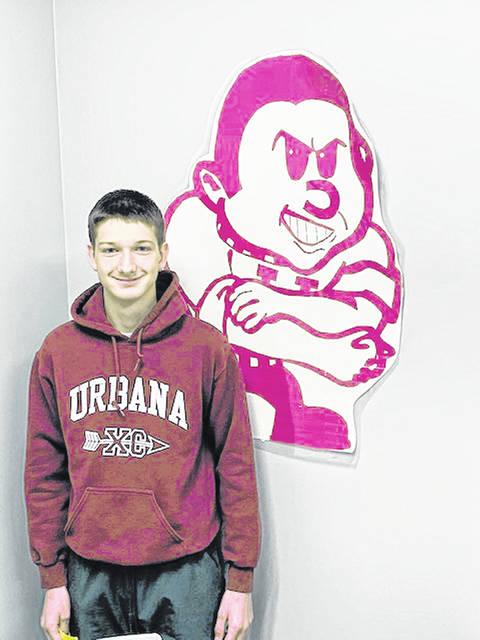 Senior Lucas Chess is an Urbana High School Student of the Month.