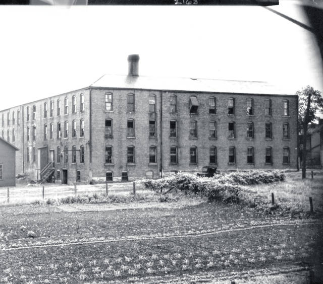 Then - This circa 1910 photo shows the White-Valentine Co. on the northwest corner of Gwynne and North Russell streets.