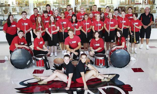 The Triad Marching Band and Alumni will present a free performance on Sunday, Nov. 3 at 3 p.m. in the Triad High School Gym. The alumni will practice at 1:30 p.m. prior to the concert and are asked to wear black. If alumni need an instrument for the concert, please contact Mr. Sharritts in advance.