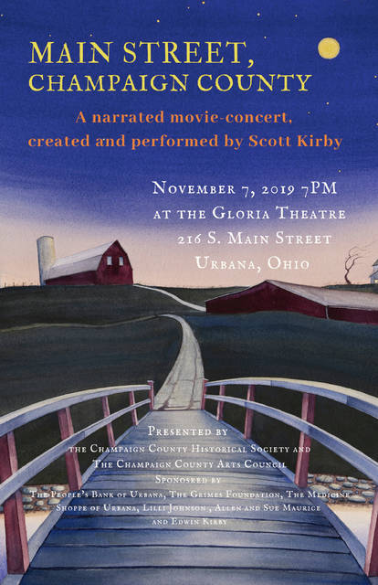 """The premiere of Scott Kirby's """"Main Street, Champaign County"""" is Nov. 7 at 7 p.m."""