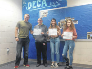 Triad DECA members advance to international contest