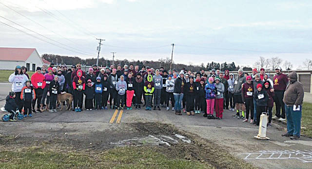 Over 100 people ran in last year's annual Turkey Trot at the Champaign Family YMCA. Runners included children and pets. This year's Thanksgiving Day (Nov. 28) run will start and finish at the Y, running through Melvin Miller Park. Maps of the trail are available at the Y on Community Drive. All are welcome. To register, visit the Y by Nov 24 to ensure availability of shirts and medals. Registration the morning of the run starts at 7:30 a.m.; the run starts at 8:30 a.m.