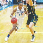 James leads UU women to victory