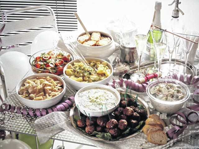 Plan ahead and keep to your plan during food-filled festivities.