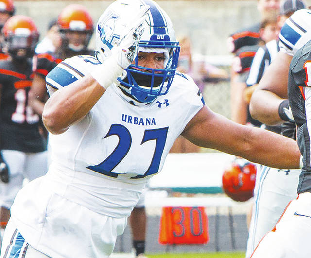 Urbana University's Mikal Toliver (pictured) has been named to the CoSIDA Academic All-America® Division II Football Team.