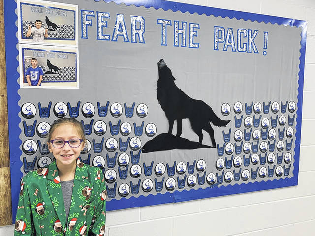 Mohawk's Layla West is an Urbana Junior High Student of the Month for December.