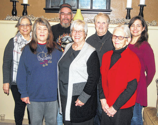 From left are ministers of the Stephen Ministry program of Urbana United Methodist Church: Nita Bauer (co-director), Deborah and Keith Elliott, Terry Larson, Jene Wilson (co-director), Sue Markley and Janice Meyer. Not pictured are Stephen Ministers Ron and Deb Lantz.