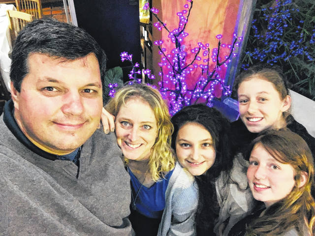Urbana Church of the Nazarene, corner of Dugan Road and East State Route 29, will host guest missionaries from Argentina, Carlos and Robin Radi and their daughters, Feb. 28-March 1. They will be featured at 6:30 p.m. Saturday, Feb. 29, with refreshments to follow, and at the 10 a.m. Sunday, March 1, service, which will be followed by a potluck. Carlos and Robin have been Church of the Nazarene missionaries in Central and South America since 1999. All are invited to hear their story at both events and to take a favorite dish to the potluck.