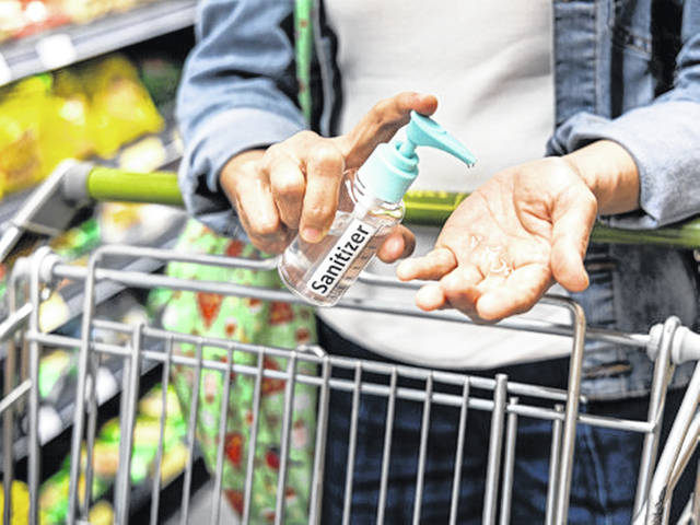 The CDC says wash and sanitize your hands after grocery shopping. It's important that you wash your hands with soap for at least 20 seconds each time. Hand sanitizer is also an option if you do not have access to soap and water.