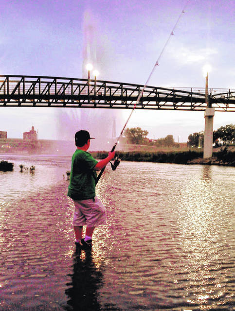 Whether you buy a fishing license in September like this angler, fishing on the Great Miami River in downtown Dayton, or if you buy it in January, it's good for a full 12 months. An Ohio fishing license is valid for 365 days starting from the day of purchase.