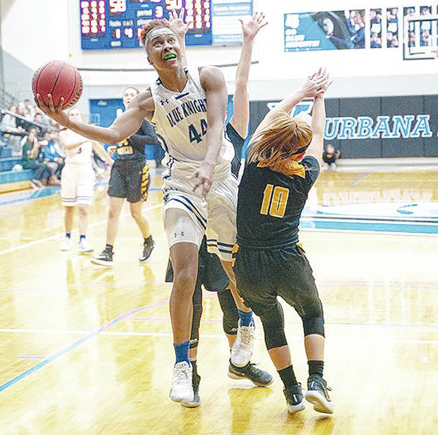 Urbana University's Tyra James (pictured) has been named the 2020 Atlantic Region Player of the Year.