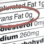 Eat fewer trans or saturated fats for heart health