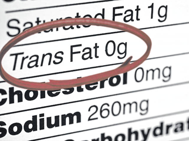 People should read labels to check for trans fats, but be aware that food manufacturers can claim 0 grams of trans fats if their product has less than .5 grams per serving, according to Dan Remley, an educator in family and consumer sciences for Ohio State University Extension.