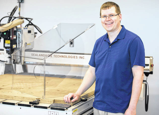 2005 Graham High School graduate Stephen Smith developed his version of the aerosol box to better protect health care workers from the splattering of COVID-19 germs that occurs when intubations bring about forceful coughs from patients. Smith is a 2009 Cedarville University alumnus.