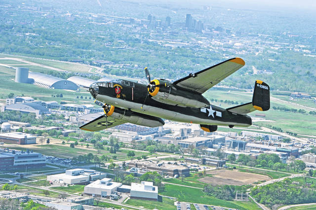 The Champaign Aviation Museum's B-25 Champaign Gal will fly over Washington, D.C. on July 4 as part of the Salute to America flyover.