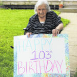Celebrating 103rd birthday