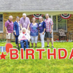 Birthday at home: Leah Ludlow