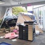 Driver arrested for OVI after truck crashes into library