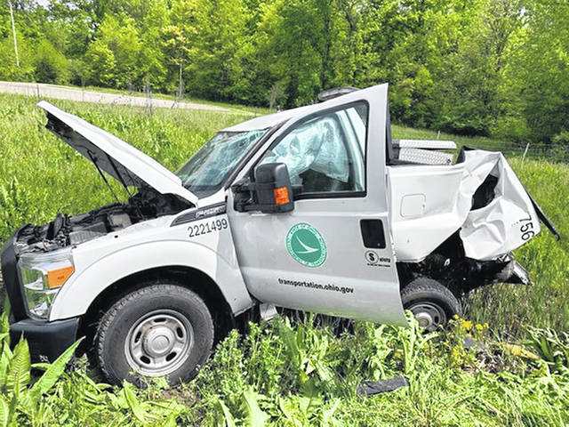 On May 27, a semi slammed into the back of an ODOT truck hauling an arrow board as part of a rolling work zone on U.S. 30 in Crawford County. An ODOT employee in the truck was flown to a Columbus hospital for treatment.