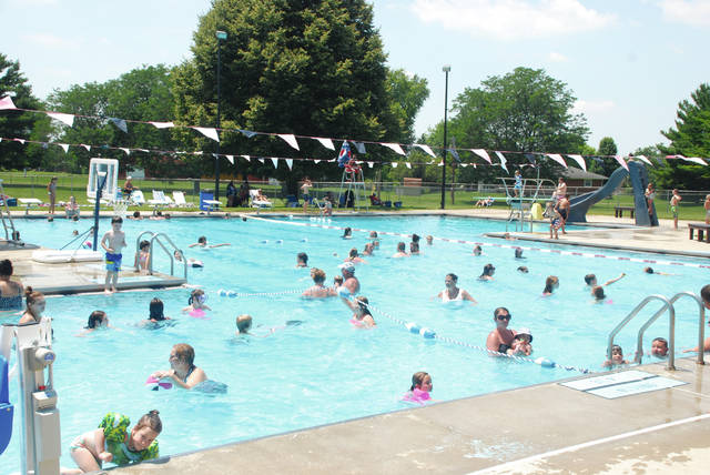 Thanks to anonymous benefactors, the Urbana municipal pool will open this summer for an abbreviated season. The pool is pictured in this 2019 file photo.