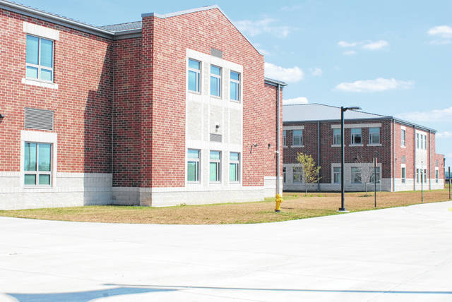 School districts are reportedly in line to receive CARES funding, although exact amount each district will receive has not yet been determined. Pictured is the Urbana pre-K-8 school building on U.S. Route 68 south of Urbana.