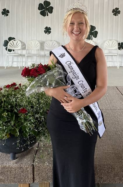 McKenze Hoewischer was announced as the 2020 Champaign County Fair Queen on Sunday evening at the fair. <ins>See full coverage in Tuesday's print edition of the <em>Urbana Daily Citizen</em></ins>.