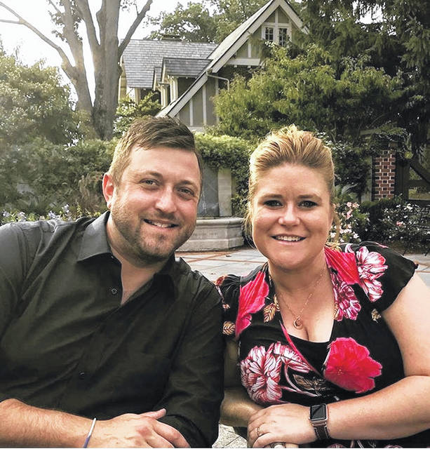 Candidate Ted Greek and his wife Meghan are preparing to hit the campaign trail in the 85th Ohio House district. He is a write-in candidate in the Nov. 3 general election challenging incumbent Republican state Rep. Nino Vitale.