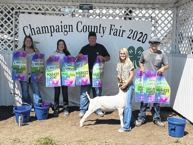 Kyndall Metz, Grand Champion Market Wether, Division 4 Champion
