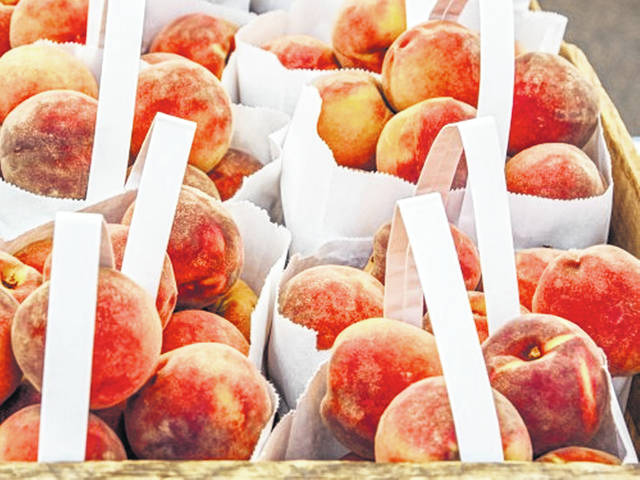 The peaches recall occurs as a nationwide onion recall, also due to salmonella contamination, was expanded Aug. 18 to include more onions and some food made with onions.