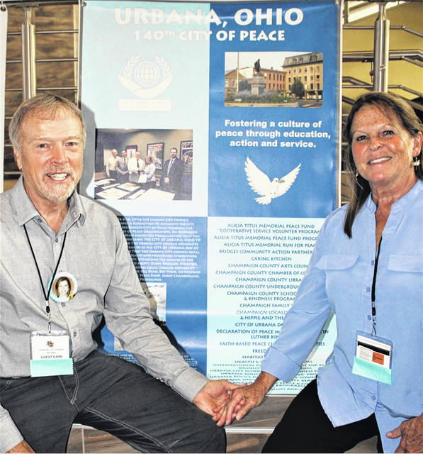 John and Bev Titus have worked for a more peaceful world since the death of their daughter Alicia on Sept. 11, 2001.
