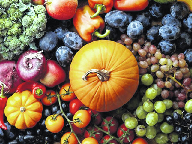 Autumn offers bounty of fruits and vegetables.