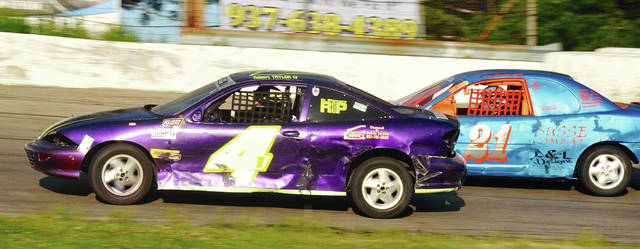 Robert Taylor IV (4) and Ben Cartwright (21) are expected to compete at Shady Bowl Speedway Saturday night.