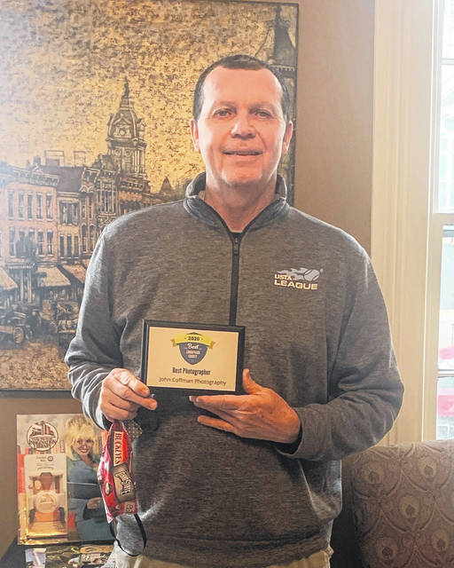 John Coffman, of John Coffman Photography, received the Best Photographer award in the Champaign County Chamber of Commerce's Best of Champaign County Contest.