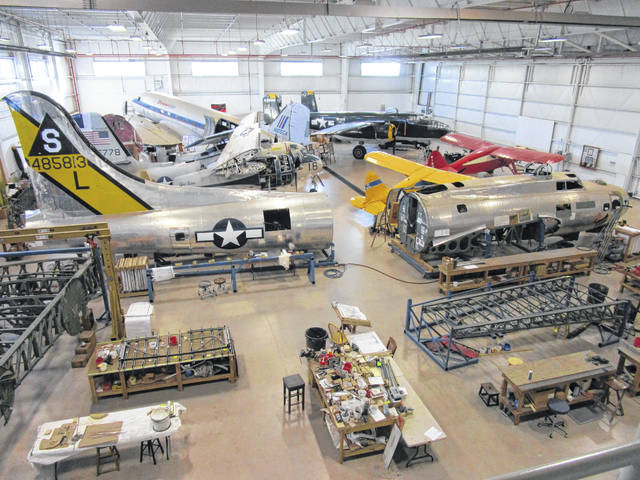 A 3D virtual tour of the Champaign Aviation Museum is now possible.