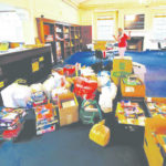 Donated books aid youth center