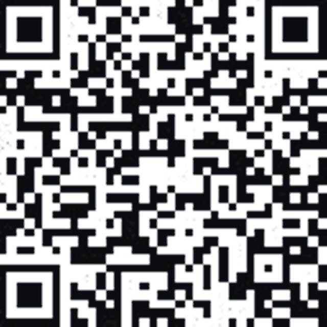 Donors may scan this QR code with their smartphone to make a donation.