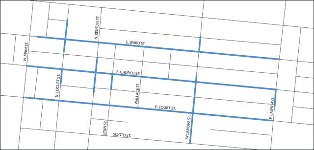 The Court project will focus on the Urbana neighborhood bordered by East Ward Street on the north, North Main Street on the west, East Court Street on the south and East Lawn Avenue on the east.
