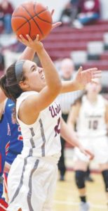 Rooney leads UHS girls to win over Graham