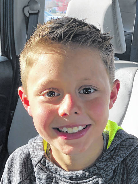Matthew Arnett - UVA was an Urbana Elementary Student of the Month in November 2020.