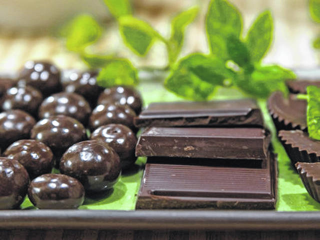 Dark chocolate is healthier than milk chocolate because it has more cocoa, less sugar and less fat.
