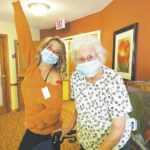 Urbana Place Senior Living Community receives second COVID-19 vaccinations