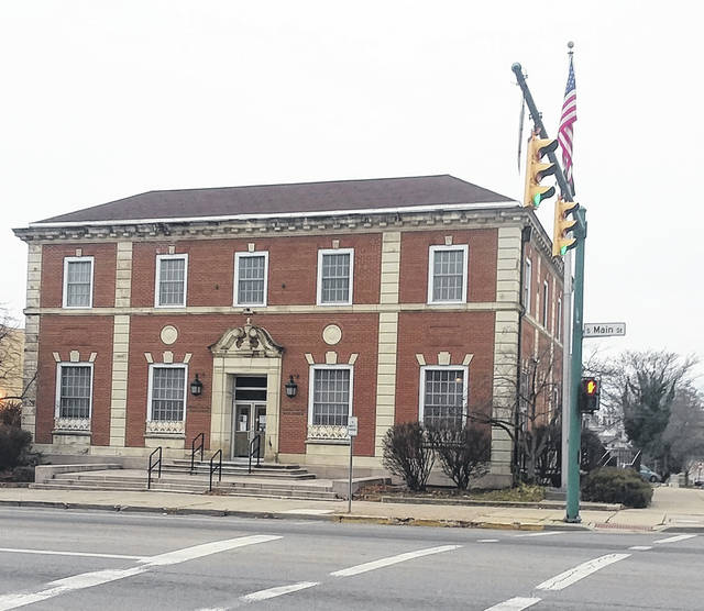 This is a 2021 photo of the Urbana U.S. Post Office on the southwest corner of South Main and West Market streets.