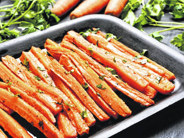Our bodies seem to use more easily the beta carotene in cooked carrots than in raw ones.