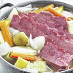 Cook corned beef safely