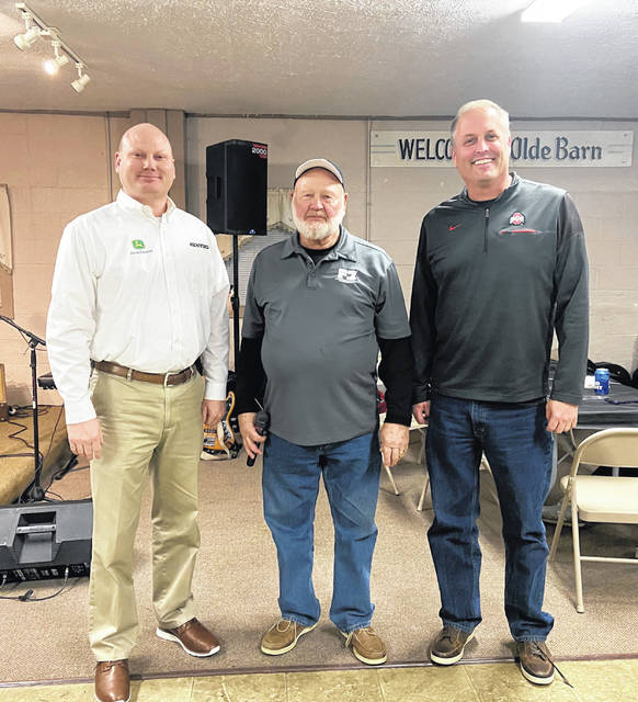 Pictured from left to right are Aaron Brown, Tom Nisonger and Dave Snyder.