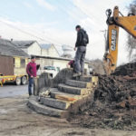 Historic steps saved, moved