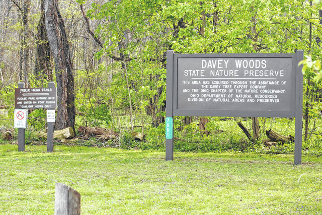 Davey Woods in Champaign County is one of four Ohio State Nature Preserves inducted into the Old-Growth Forest Network (OGFN) on April 21 and 22 to coincide with the celebration of Earth Day.